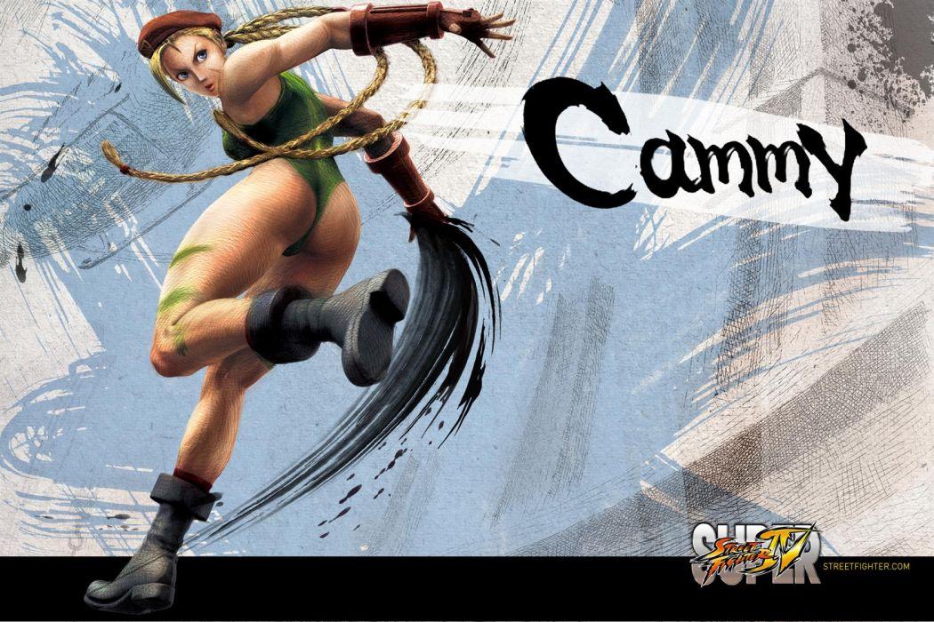 Cammy - Super Street Fighter Iv wallpaper