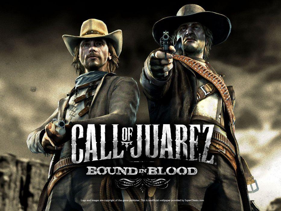 Call of Juarez Bound in Blood wallpaper