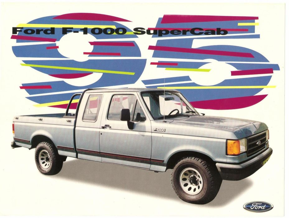 Ford F1000 SuperCab 1995 wallpaper