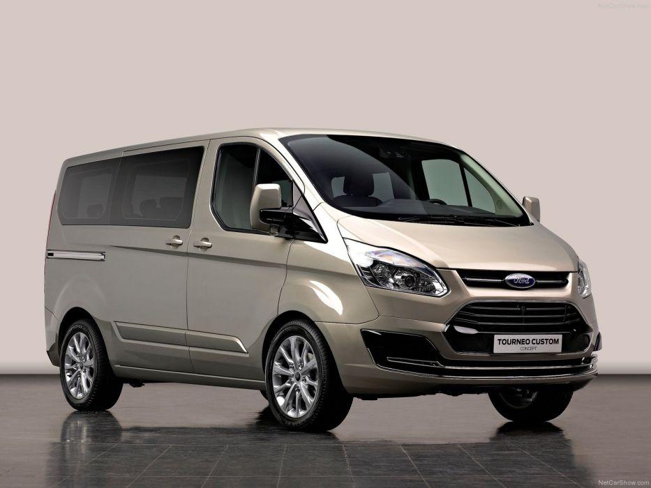 Ford Tourneo Custom Concept 2012 wallpaper