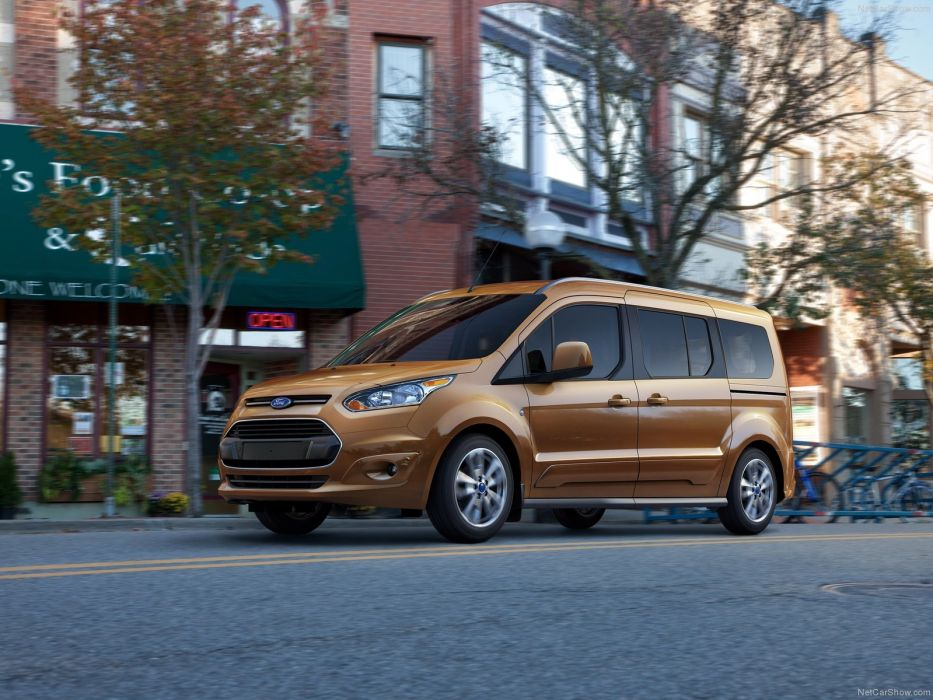 Ford Transit Connect Wagon 2014 wallpaper