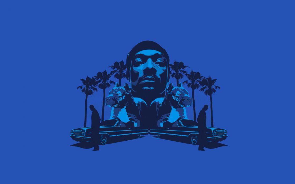 minimalistic Hip Hop rap Snoop Dogg singers Calvin Broadus wallpaper