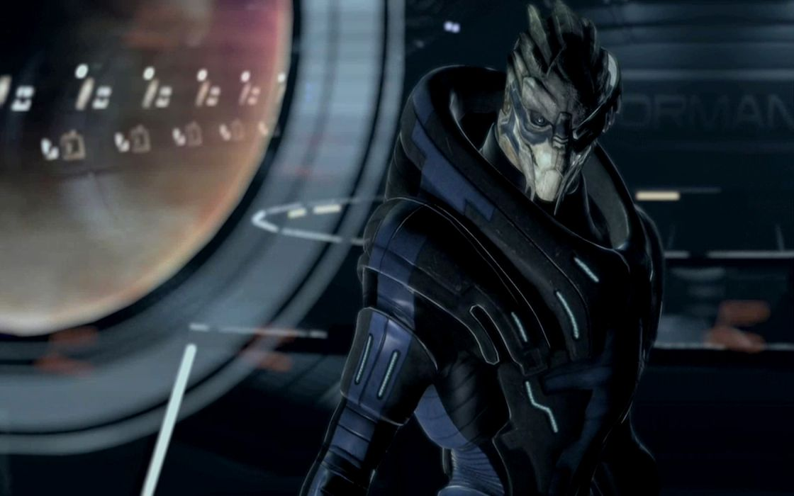 Mass Effect Garrus Vakarian Turian wallpaper