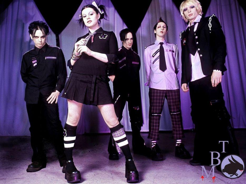dark Gothic The Birthday Massacre Industrial music wallpaper