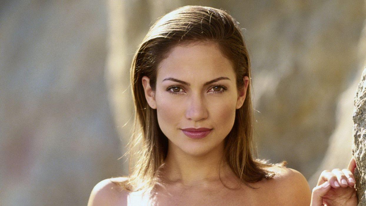 women Jennifer Lopez models wallpaper