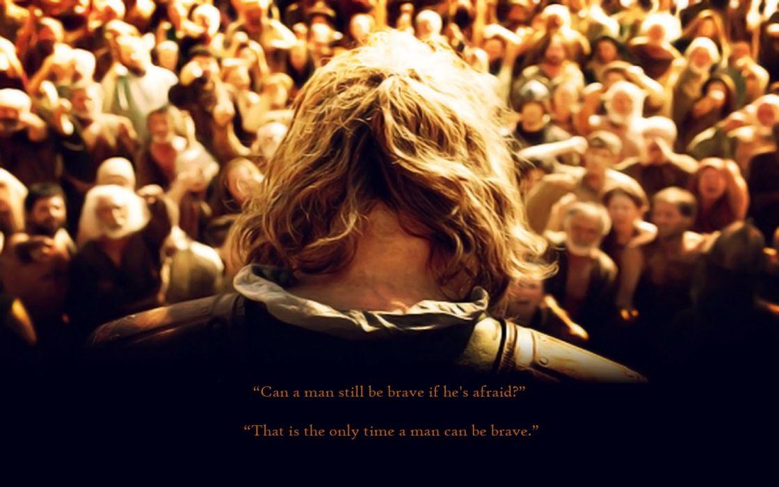 quotes Brave Game of Thrones Sean Bean TV series wallpaper