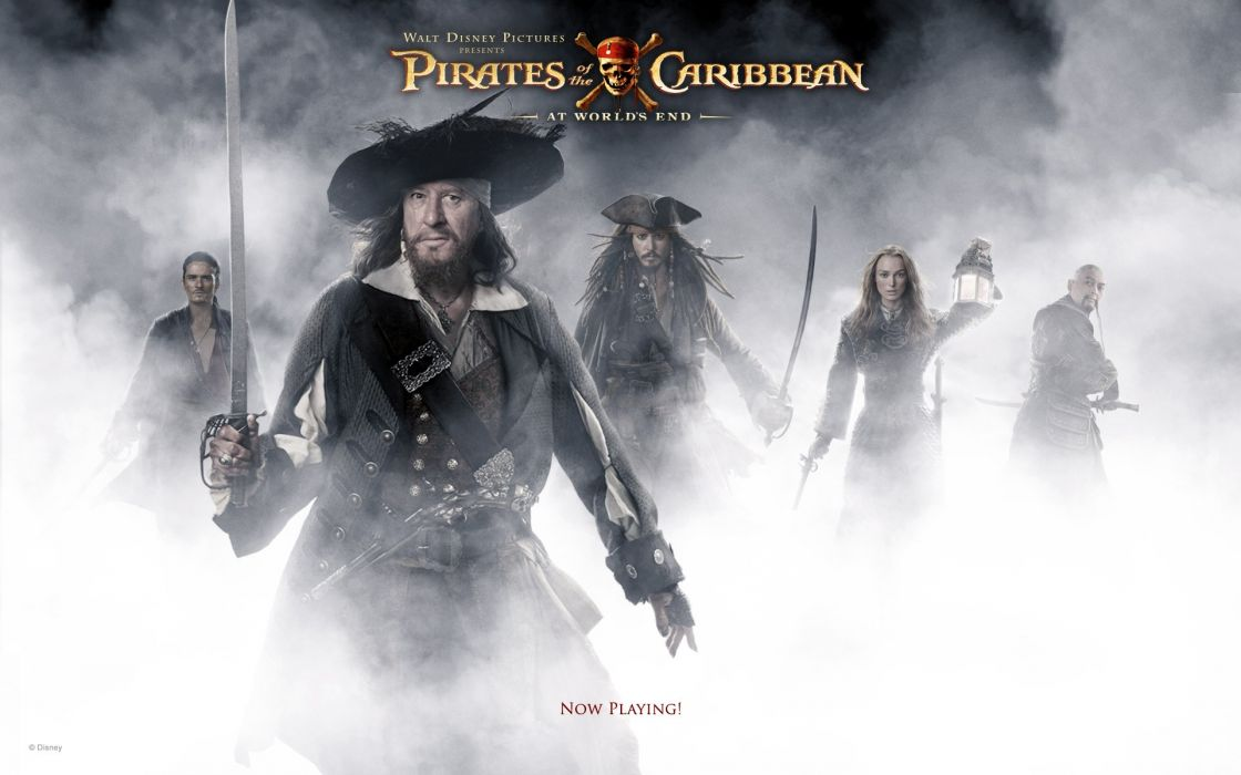 movies Pirates of the Caribbean Geoffrey Rush Captain Jack Sparrow Captain Hector Barbossa wallpaper