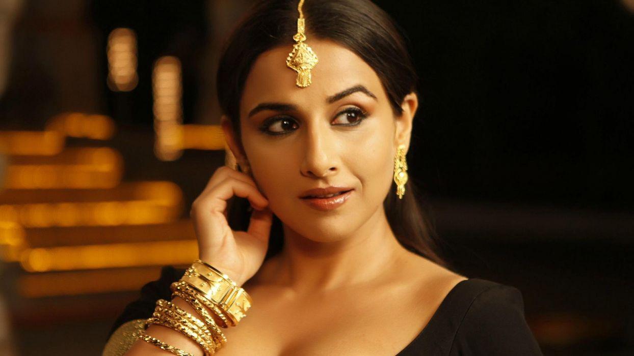 women Bollywood Vidya Balan wallpaper