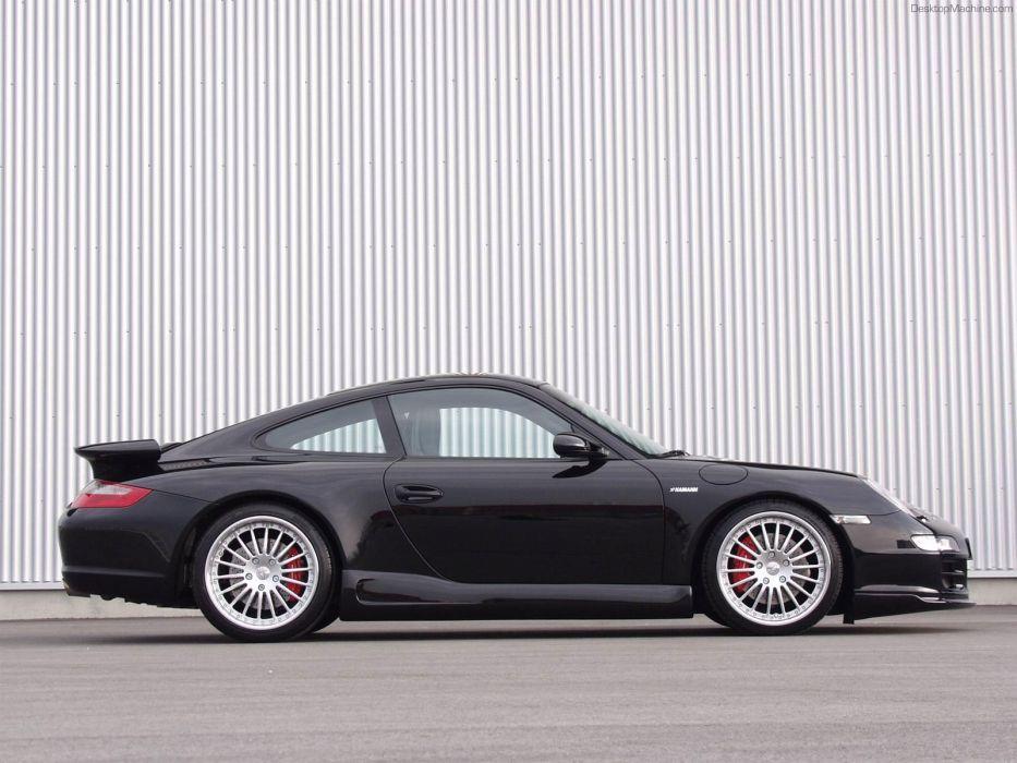 Porsche cars Hamann wallpaper