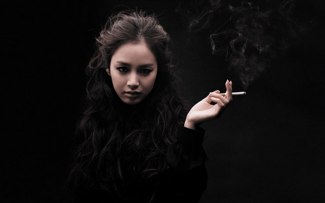 women smoke girls smoking Kim Tae Hee wallpaper