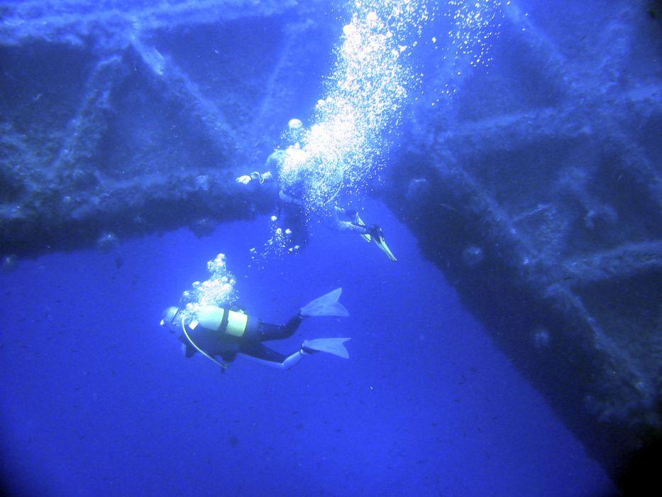 scuba diving underwater wallpaper