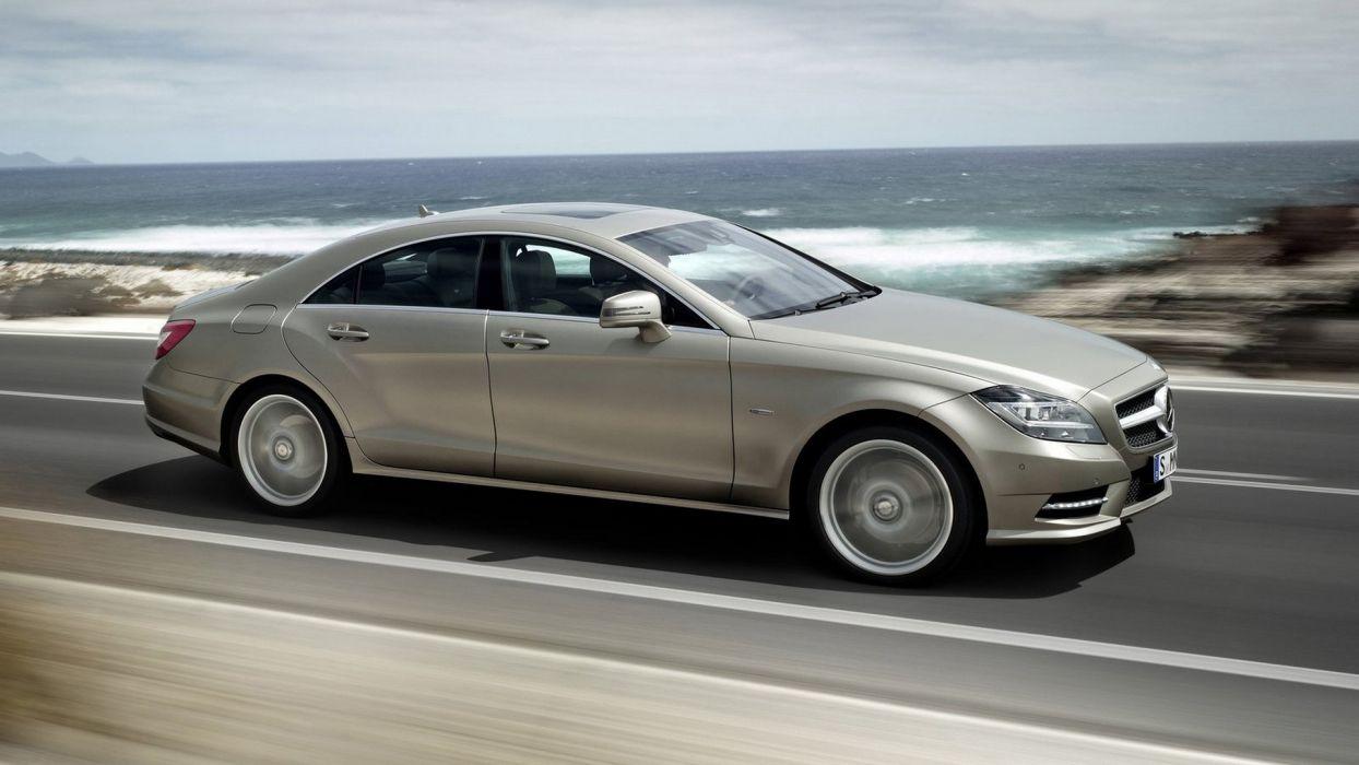 cars vehicles wheels Mercedes-Benz CLS-Class automobiles wallpaper