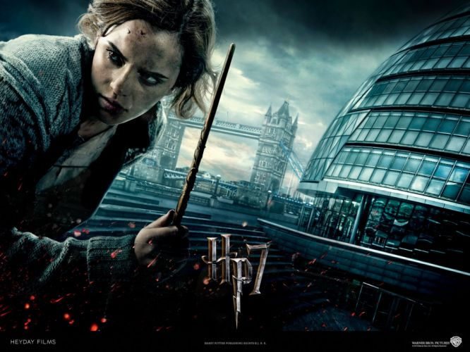 fantasy Emma Watson movies Harry Potter Harry Potter and the Deathly Hallows Hermione Granger wallpaper