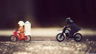 Star Wars Bike Funny Legos Wallpaper 3840x2160 216449 Wallpaperup