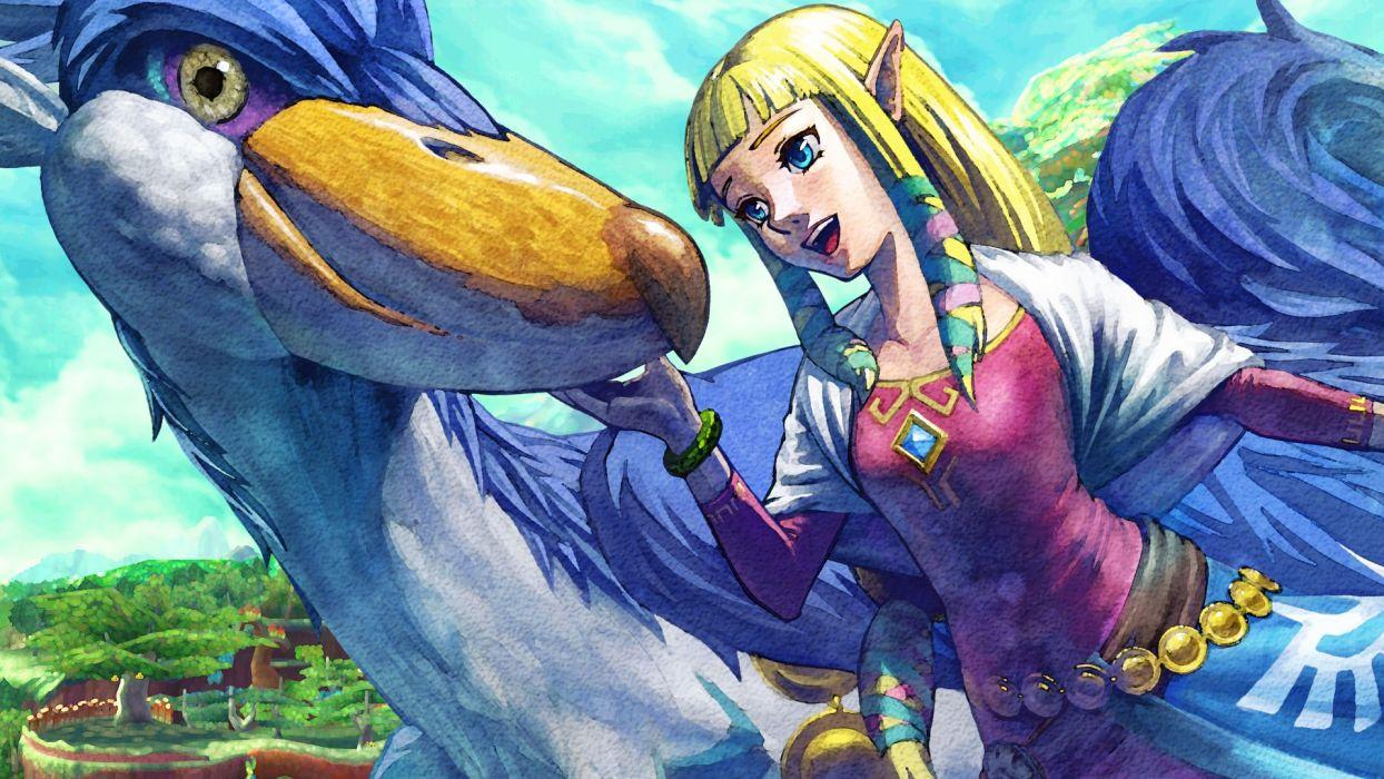 The Legend of Zelda Skyward Sword wallpaper