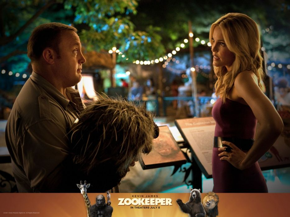 movies Kevin James Zookeeper Zookeeper (movie) wallpaper