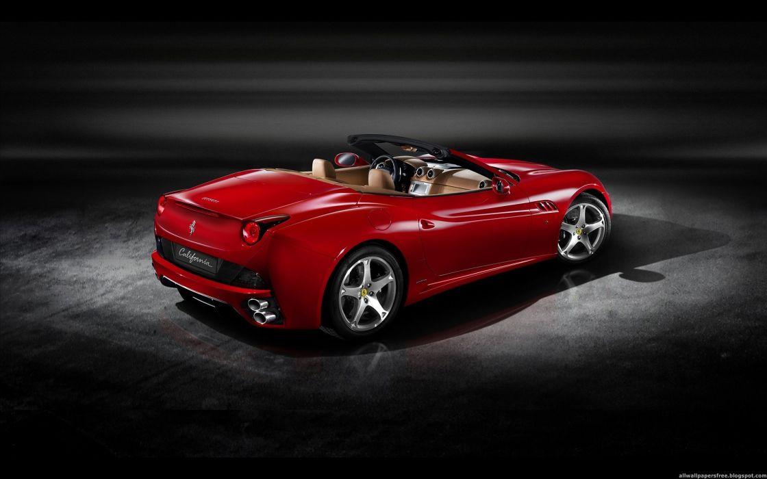 cars vehicles Ferrari California wallpaper