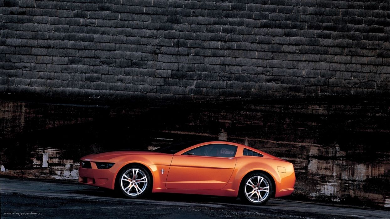 cars Ford vehicles Ford Mustang side view Ford Mustang Giugiaro wallpaper