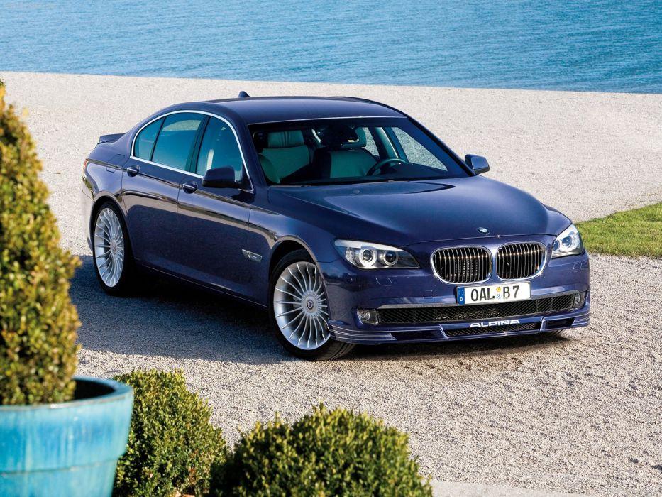 BMW cars turbo Alpina Alpina BMW B5 Bi-Turbo (2011) Alpina BMW B7 Bi-Turbo Allrad (2010) wallpaper