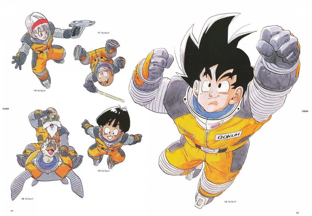 Son Goku Master Roshi Son Gohan Dragon Ball Z Bulma Krillin wallpaper