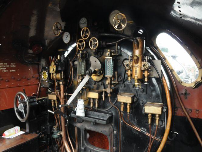 steam trains railroads wallpaper