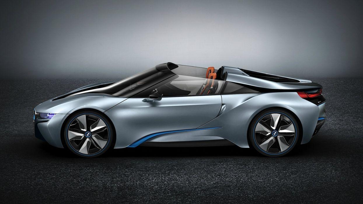 cars spyder BMW i8 concept wallpaper