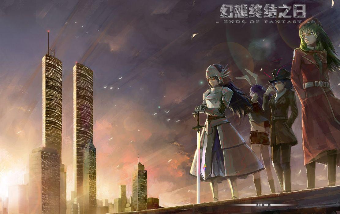 video games Touhou Reisen Udongein Inaba Hinanawi Tenshi Nagae Iku Kagiyama Hina anime girls wallpaper