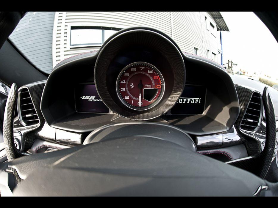 cars Ferrari supercars Ferrari 458 Italia tuning gauges Wheelsandmore wallpaper