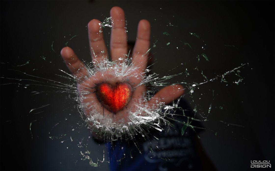 love hands hearts wallpaper