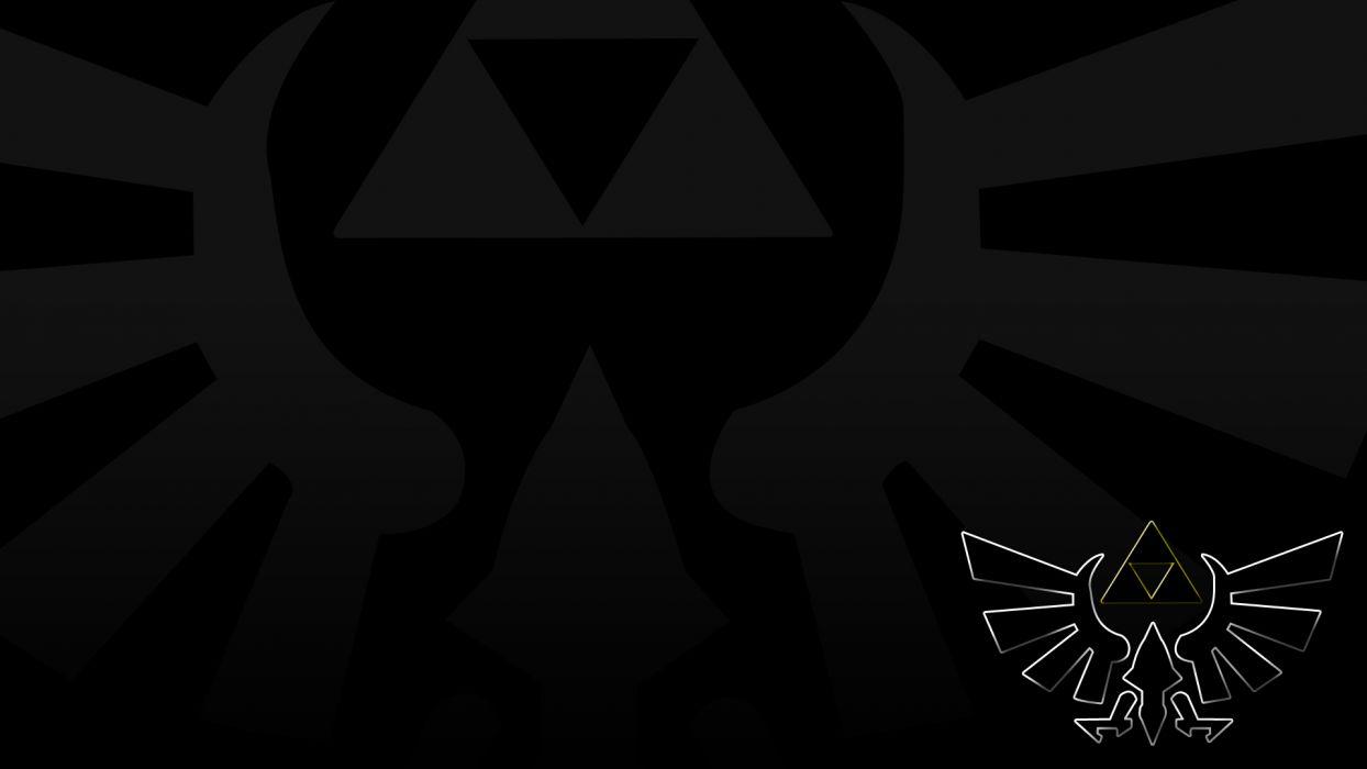 video games triforce The Legend of Zelda wallpaper