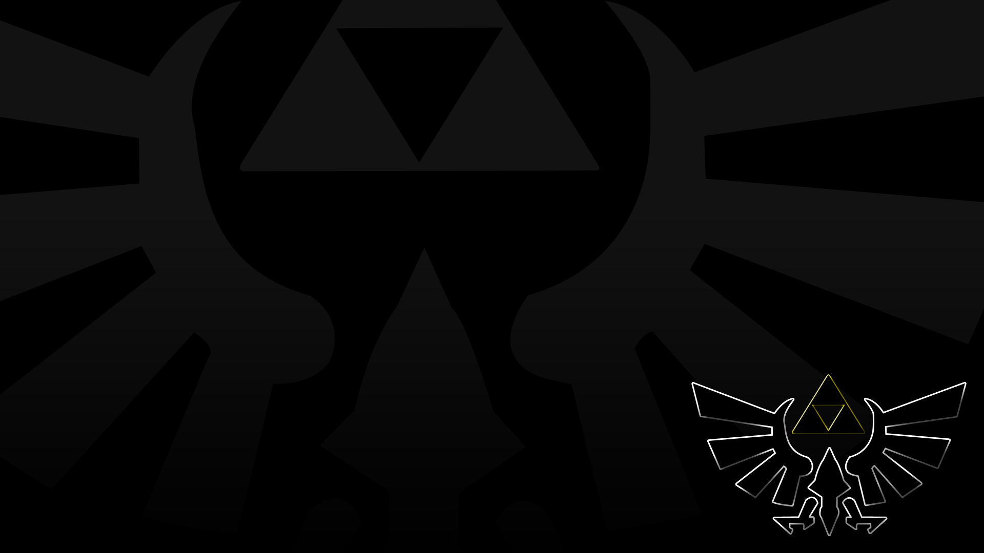 Zelda Wallpaper 1920x1080 Triforce Video games triforce T...