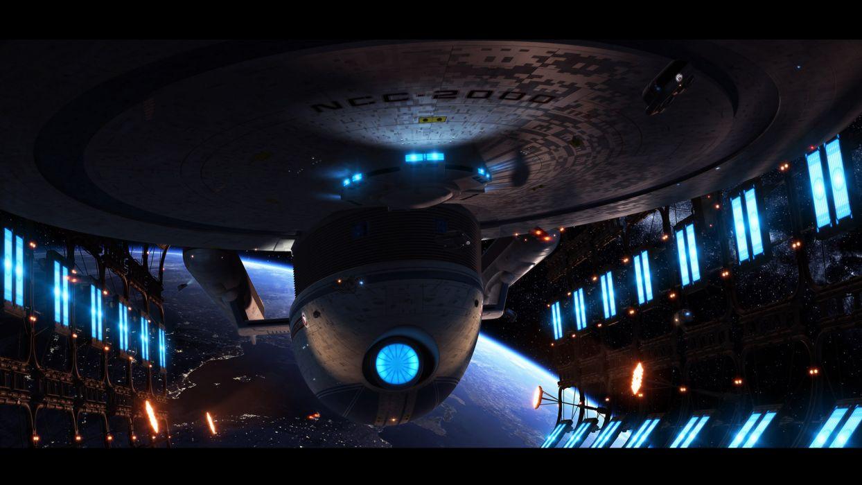 Star Trek Uss Excelsior wallpaper