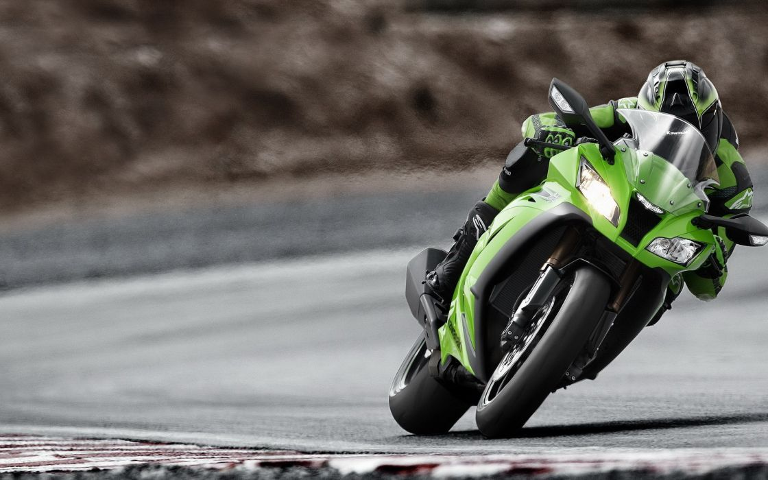 green roads vehicles motorbikes wallpaper