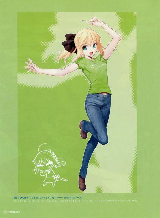 anime Saber  anime girls Saber Lily wallpaper