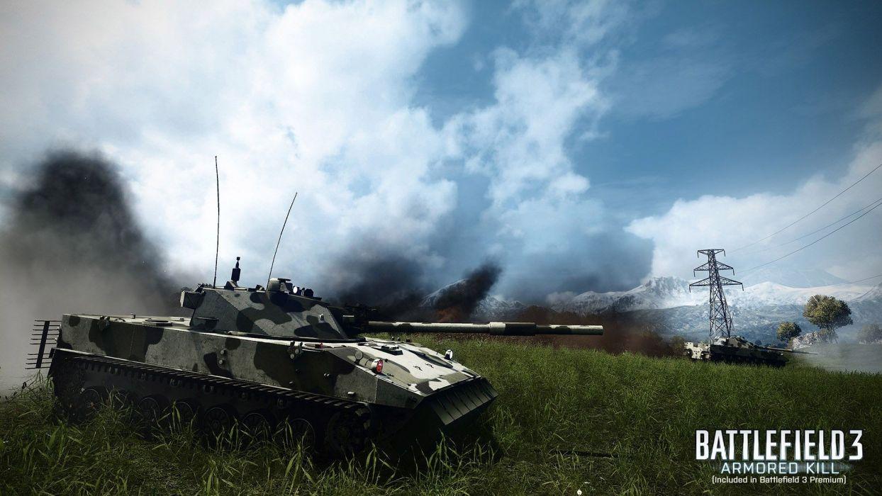 video games mountains war Battlefield tanks Battlefield 3 Battlefield 3: Armored Kill wallpaper