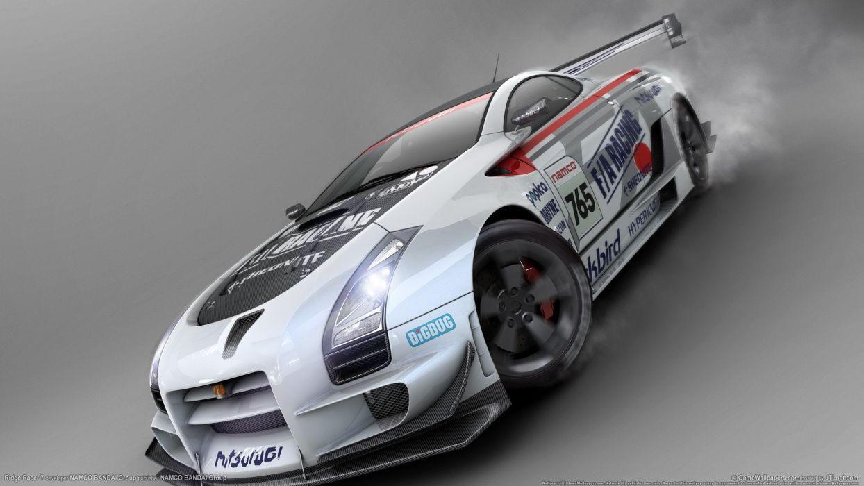 cars wheels Ridge Racer races racing cars speed automobiles wallpaper