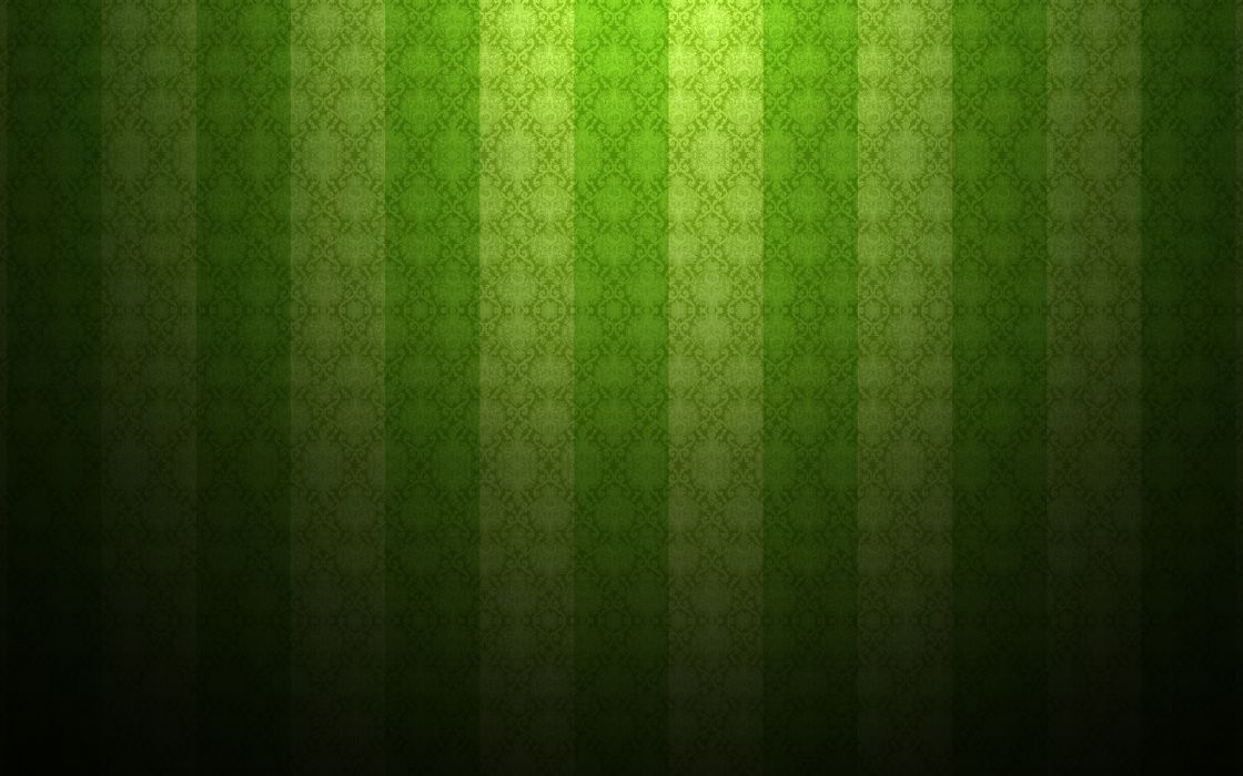 green minimalistic patterns damask wallpaper