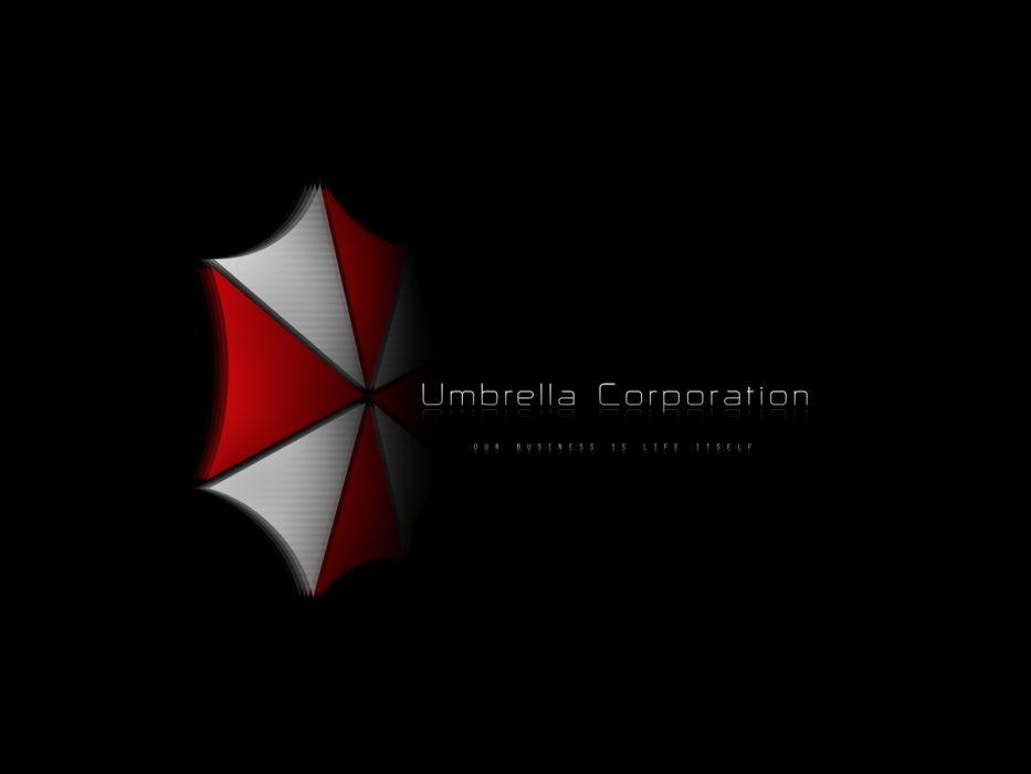 video games movies Resident Evil Umbrella Corp_ logos wallpaper