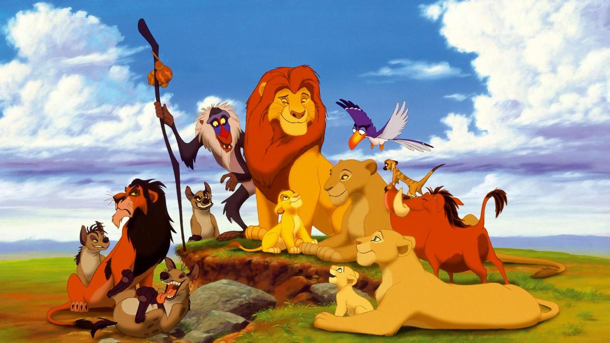 Disney Company Warthog Simba Africa The Lion King Monkeys Lions Hyenas Mufasa Nala Rafiki Timon Pumba