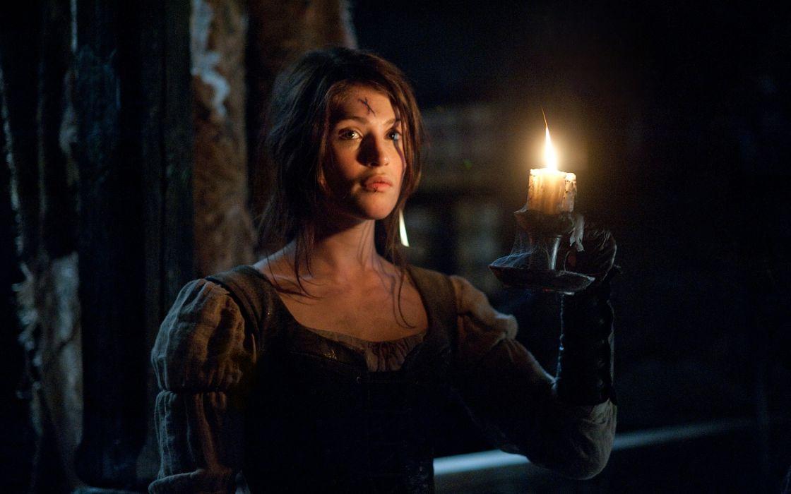 women Gemma Arterton candles Hansel and Gretel: Witch Hunters wallpaper