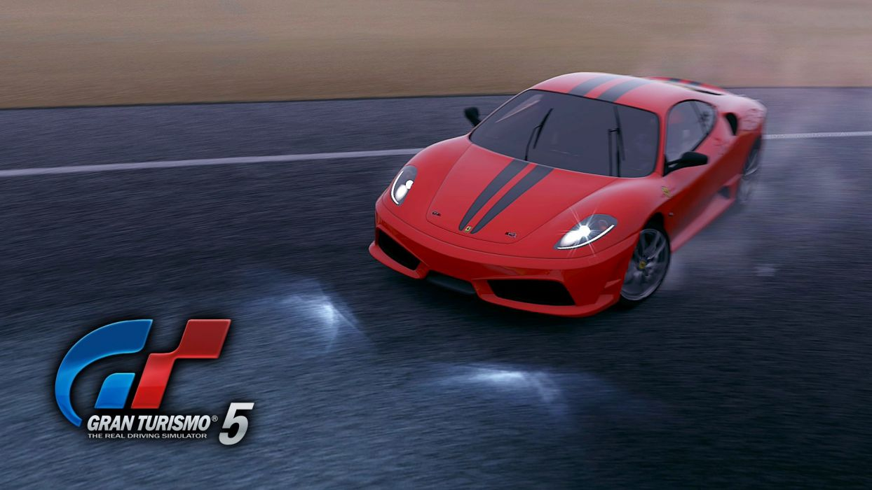 video games cars Gran Turismo 5 Ferrari F430 Playstation 3 GT5 wallpaper