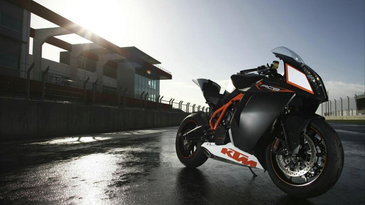 KTM RC8 motorbikes wallpaper