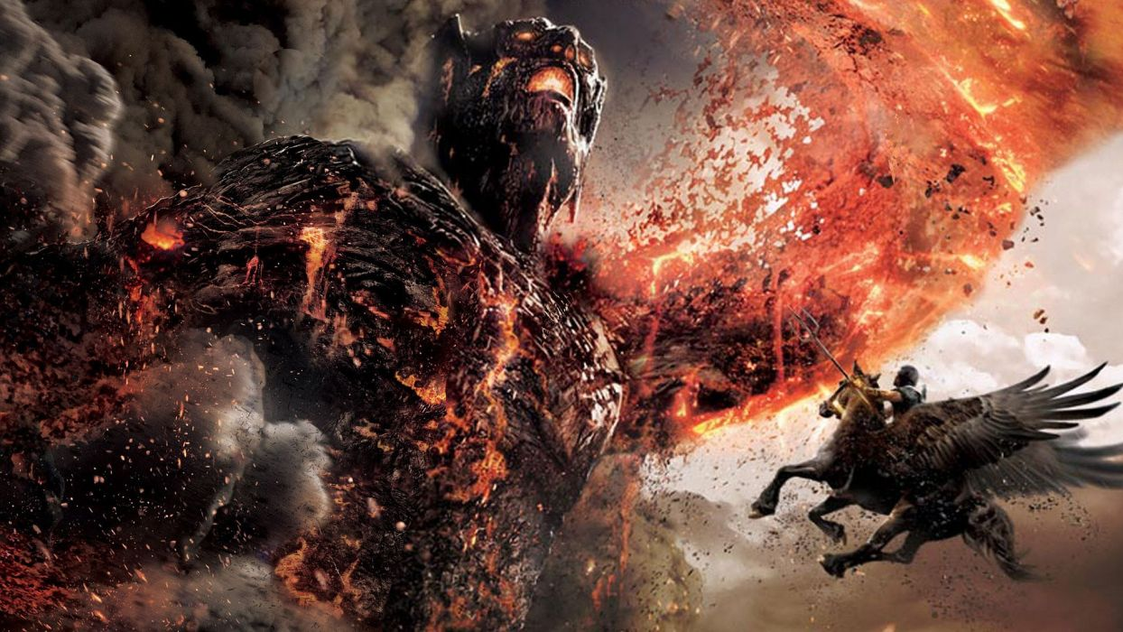 movies Wrath of the Titans wallpaper