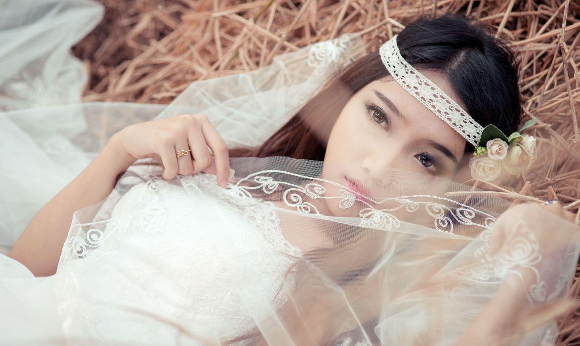 asian bride hay wallpaper