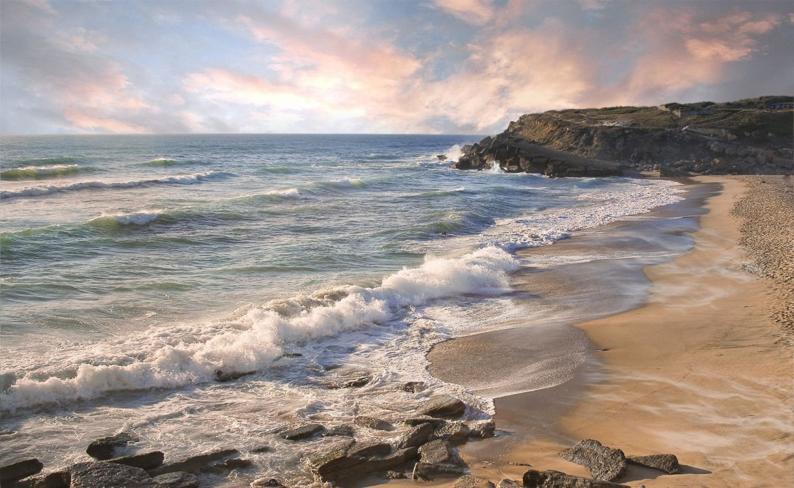 landscape sea nature beach wallpaper