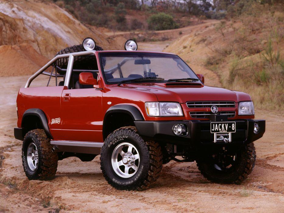 Holden Jack8 Concept 2001 wallpaper