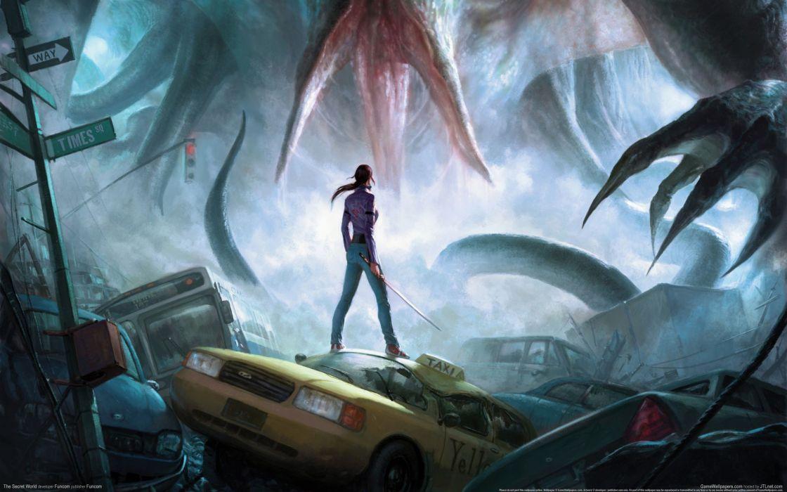 THE SECRET WORLD dark fantasy horror (47) wallpaper