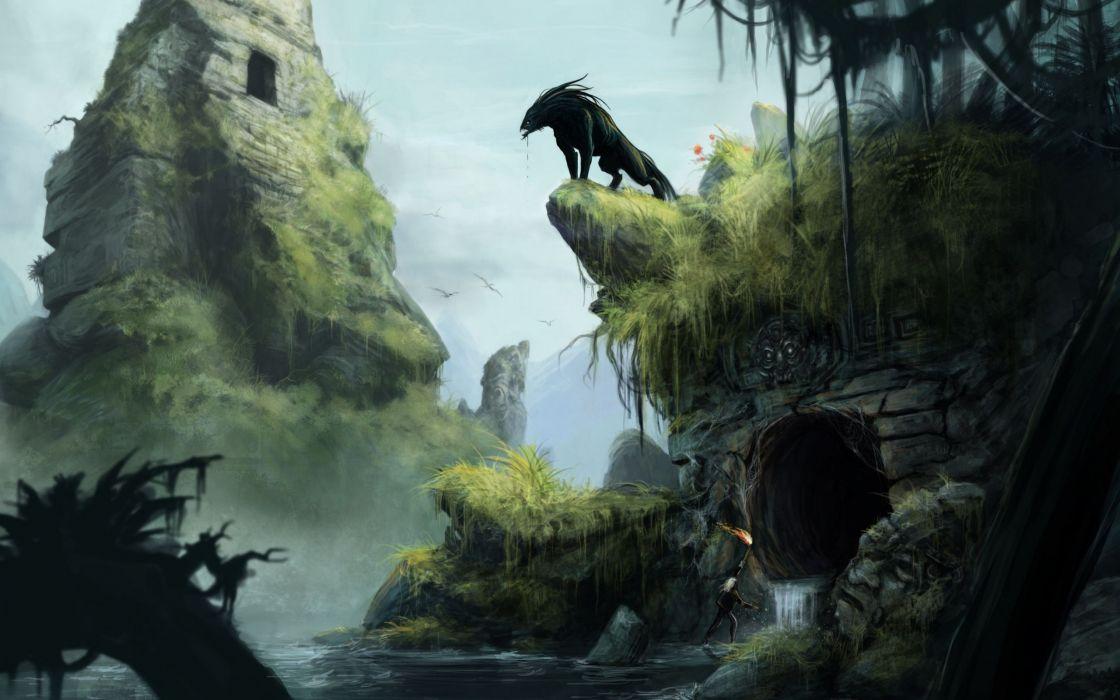 THE SECRET WORLD dark fantasy horror (64) wallpaper