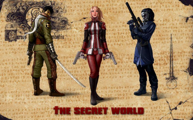 THE SECRET WORLD dark fantasy horror (69) wallpaper