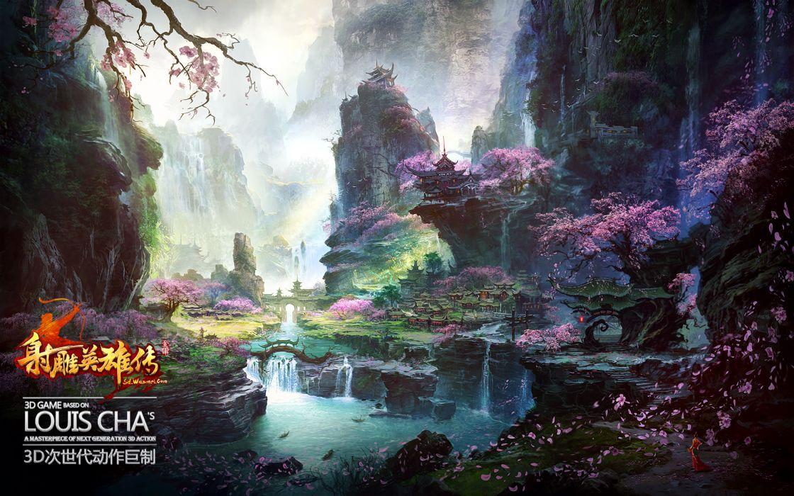 CONDOR HEROES fantasy wuxia (7) wallpaper